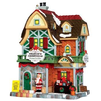 Season's Greetings Christmas Card Shop