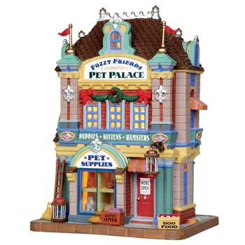 Fuzzy Friends Pet Palace