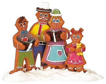 Ginger Family Carolers