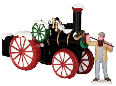 Snowy Steam Tractor