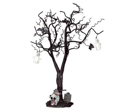Decorated Skull Tree Large