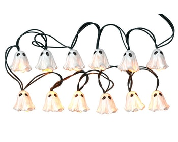 12 Lighted Ghostie String