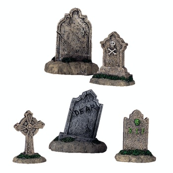 Tombstones, Set Of 5