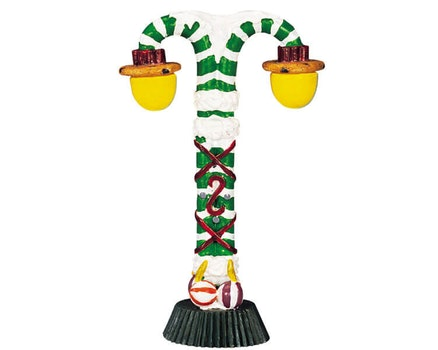 Candy Cane Street Lamp