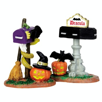 Monster Mailboxes, Set Of 2