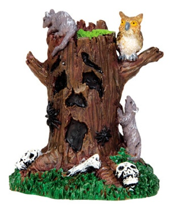 Spooky Tree Stump
