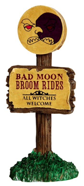 Bad Moon  Broom Rides