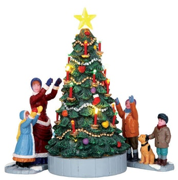 The Village Tree  Set Of 3