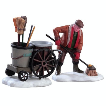 Street Sweeper, Set Of 2