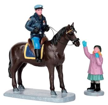 Mounted Policeman, Set Of 2