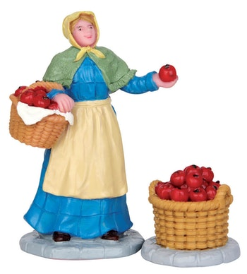 Apple Vendor, Set Of 2