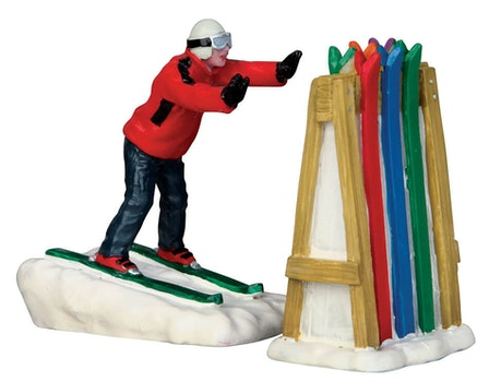 Ski Rack Disaster, Set Of 2