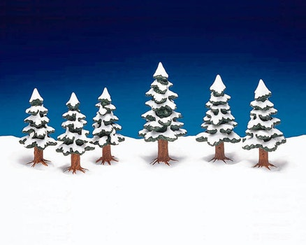 Porcelain Pine Tree