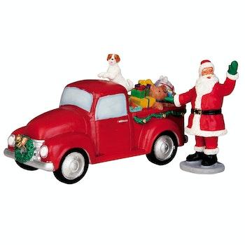Santa's Truck, Set Of 2