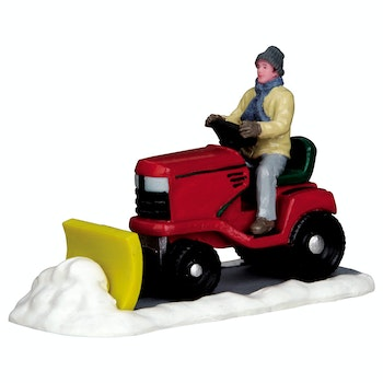 Ride-On Snowplow