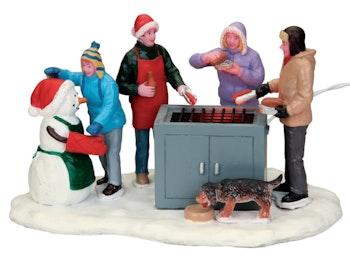Snowy BBQ