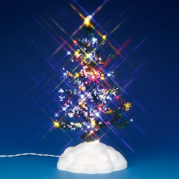 Lighted Pine Tree, Multi, Medium