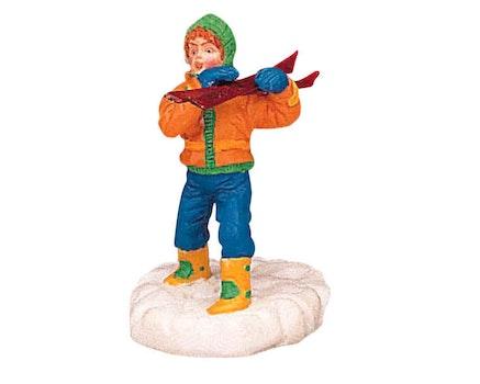 Toting Skis