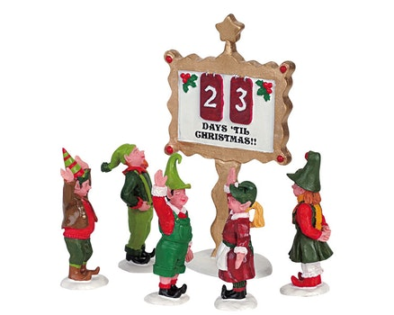 Elf In Christmas Countdown