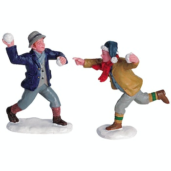 Snowball Fun, Set Of 2
