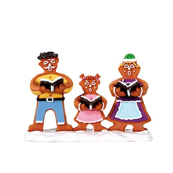 Gingerbread Carolers