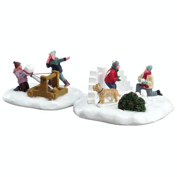 Snowball Surprise, Set Of 2