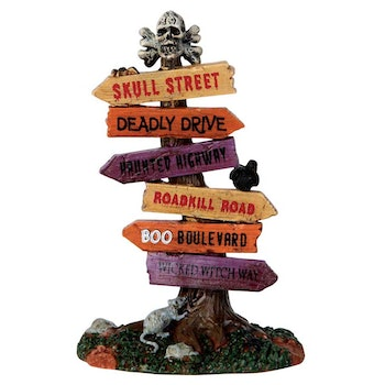 Lemax Spooky Town Accessories