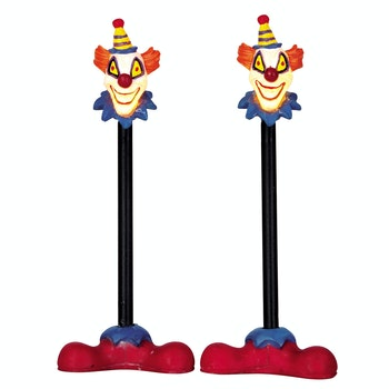 Killer Clown Lamp Post Set Of 2