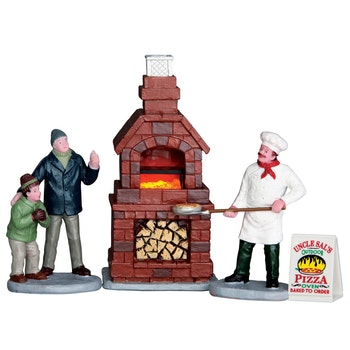 Outdoor Pizza Oven, Set Of 4