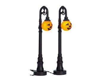 Jack-O-Lantern Street Lamp