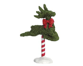 Leaping Reindeer Topiary