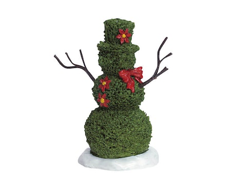 Snowman Topiary