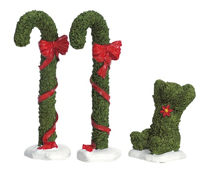 Candy Cane Topiary