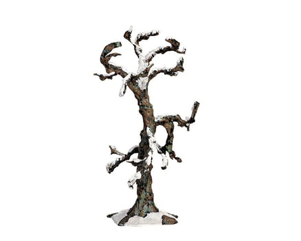 Snowy Oak Tree Medium