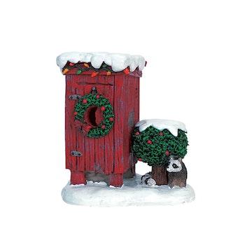 Christmas Outhouse