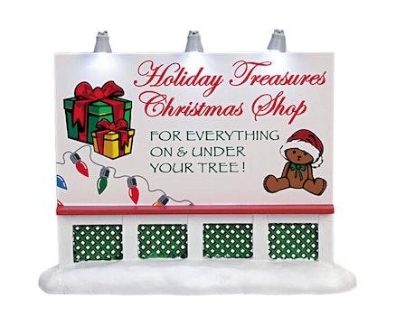 Holiday Treasures Billboard