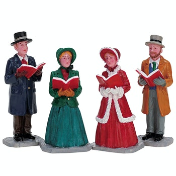 Christmas Harmony, Set Of 4