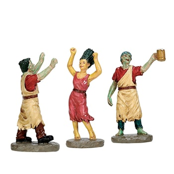 Terrifying Toga Party, Set Of 3