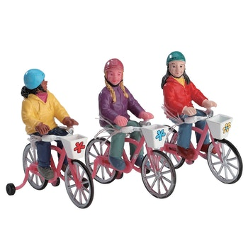 Bike Ride, Set Of 3