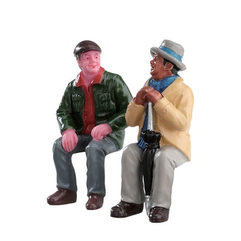 Chatting With Old Friends, Set Of 2