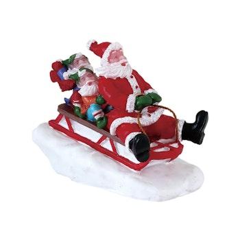 Sledding With Santa