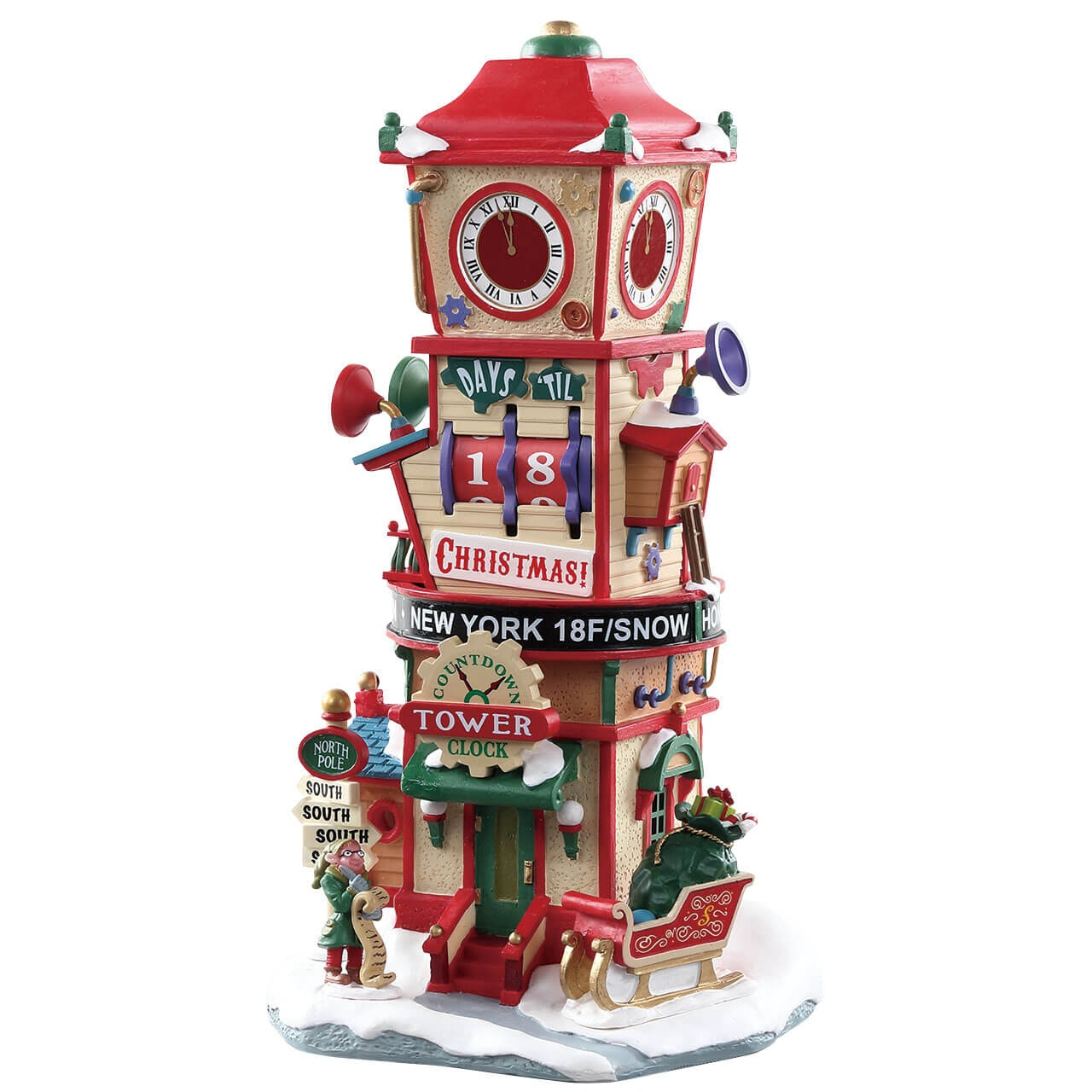 Countdown To Christmas Clock.Countdown Clock Tower