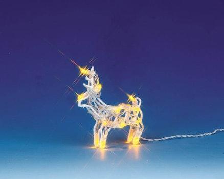 Lighted Sculpture - Reindeer