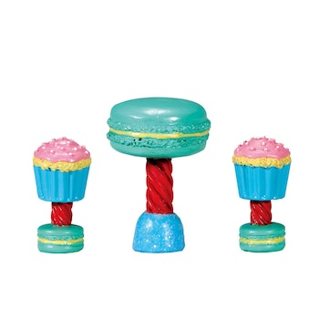 Dessert Table Set, Set Of 3