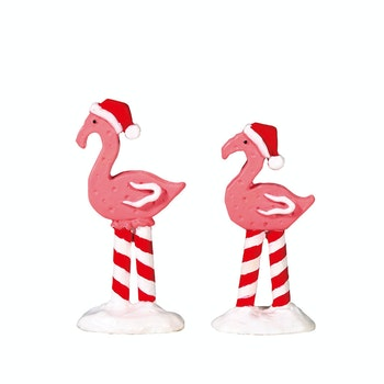 Pink Flamingos, Set Of 2
