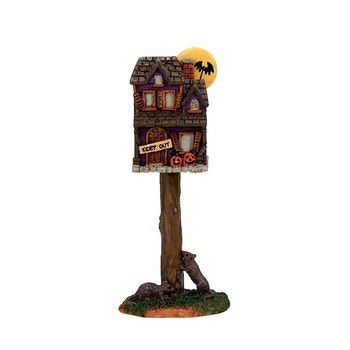 Full Moon Birdhouse