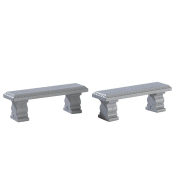 Plaza Bench, Set Of 2