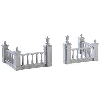 Plaza Fence, Set Of 4