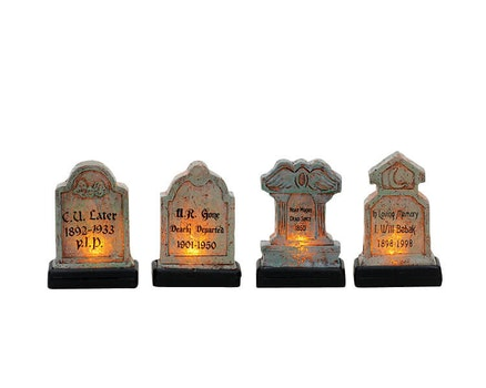 Illuminated Tomb Stones