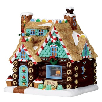Yule Log Cabin